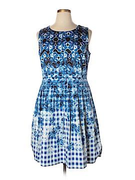 Talbots Casual Dress Size 16 (Petite)
