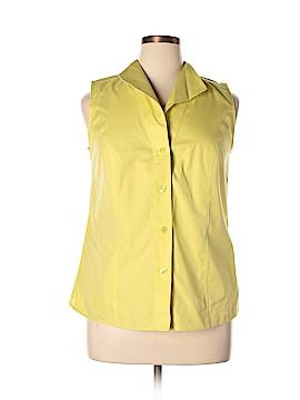 Jones New York Collection Sleeveless Blouse Size 14