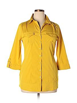 Antilia Femme 3/4 Sleeve Blouse Size XL