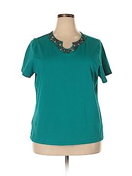 Breckenridge Short Sleeve Top Size 2X (Plus)