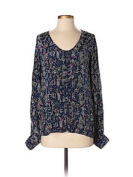 Winter Kate Long Sleeve Silk Top Size XS