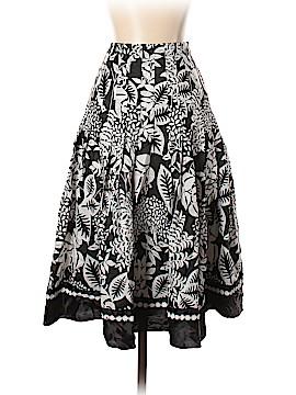 White House Black Market Silk Skirt Size 0