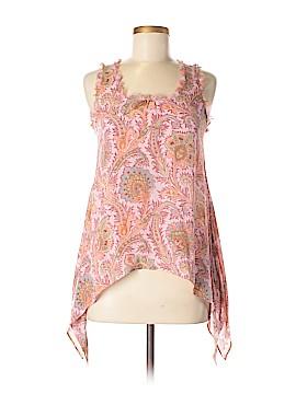 Drew Sleeveless Silk Top Size XS