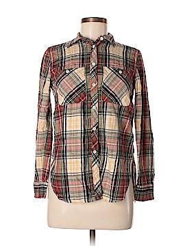 Denim & Supply Ralph Lauren Long Sleeve Button-Down Shirt Size S