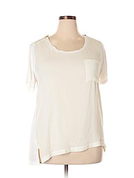 Kenar Short Sleeve Blouse Size 2X (Plus)
