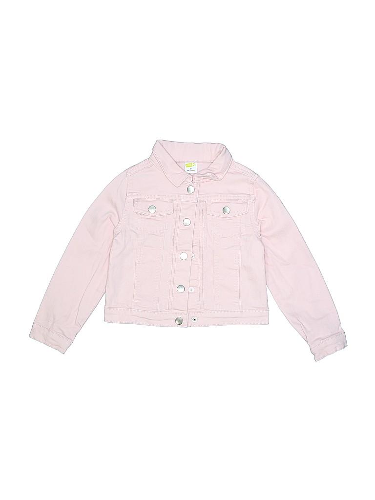 7ad68964d Crazy 8 Solid Light Pink Denim Jacket Size 4T - 63% off