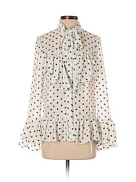 Boohoo Boutique Long Sleeve Blouse Size 4