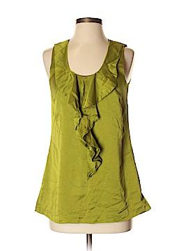 Saks Fifth Avenue Sleeveless Silk Top Size 2