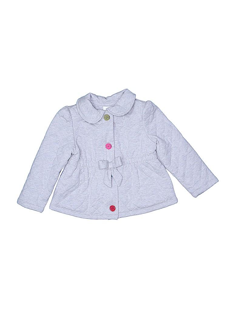 59a98a9ba Crazy 8 100% Cotton Solid Gray Coat Size 2 - 3 - 60% off