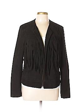 Lucky Brand Leather Jacket Size L