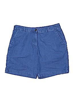 Kim Rogers Denim Shorts Size 16