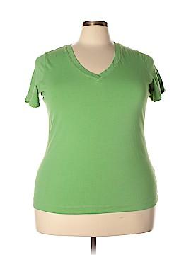 Caslon Short Sleeve T-Shirt Size 2X (Plus)