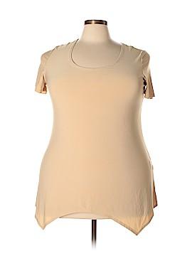 Slinky Brand Short Sleeve Top Size 1X (Plus)