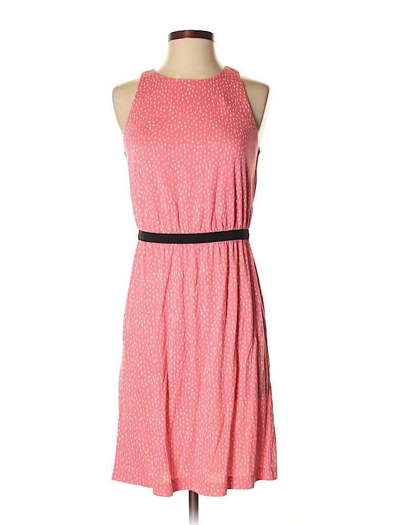 8f5d806ad7 Ann Taylor LOFT Polka Dots Pink Casual Dress Size XS - 82% off