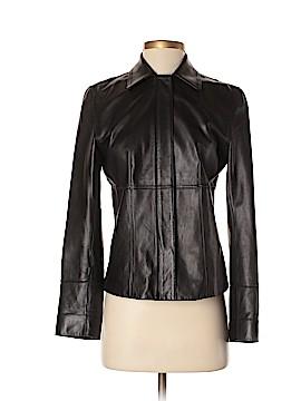 Ann Taylor Leather Jacket Size XS