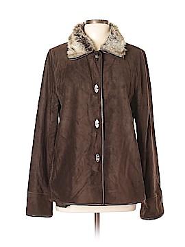Ellen Tracy Leather Jacket Size L
