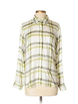 Soft Surroundings Long Sleeve Button-Down Shirt Size S