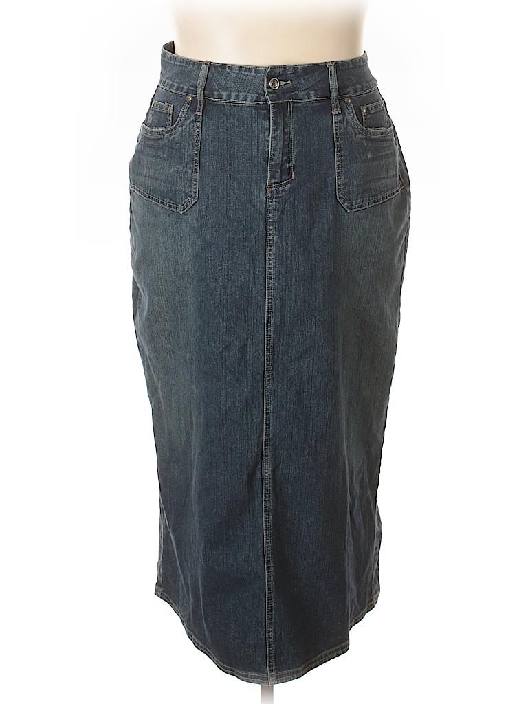 a8773a492 Cato Fashions Long Denim Skirts – DACC