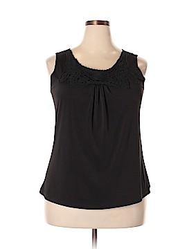 ING Sleeveless Top Size 2X (Plus)