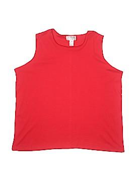One Step Up Sleeveless T-Shirt Size 3X (Plus)