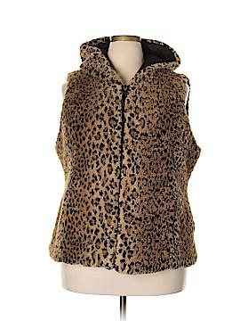 Kristen Blake Faux Fur Vest Size XXL