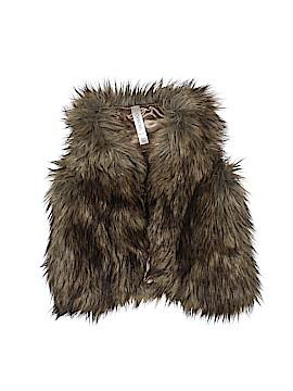 Cherokee Faux Fur Vest Size 4