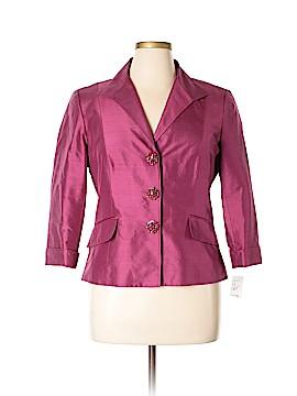 Lafayette 148 New York Silk Blazer Size 14