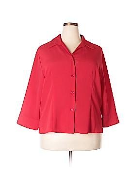 Joanna 3/4 Sleeve Blouse Size 2X (Plus)
