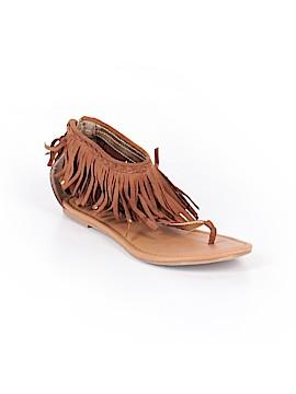 Justice Sandals Size 7