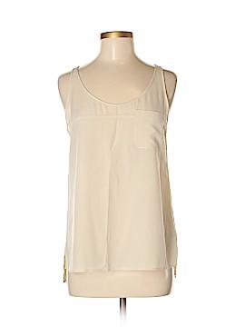 Adriano Goldschmied Sleeveless Silk Top Size M