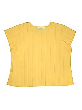 D&Co. Short Sleeve Top Size 3X (Plus)