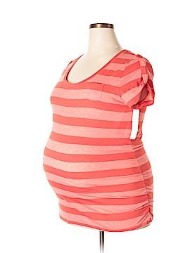 Liz Lange Maternity Short Sleeve T-Shirt Size XXL (Maternity)