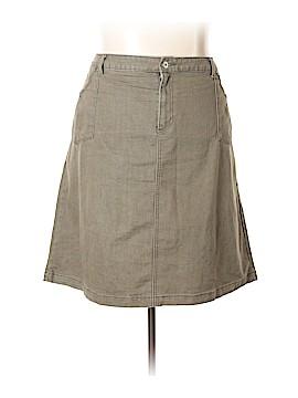 Cj Banks Denim Skirt Size 24 (Plus)