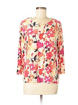 JM Collection 3/4 Sleeve Blouse Size L (Petite)