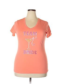 Active Basic Short Sleeve T-Shirt Size 3X (Plus)