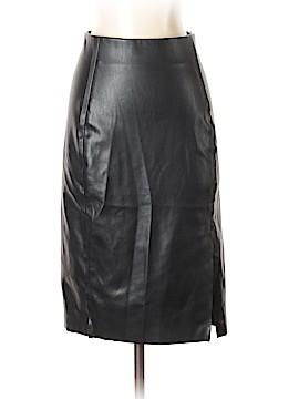 Ann Taylor LOFT Faux Leather Skirt Size 00