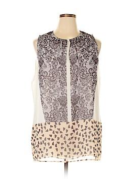 CAbi Sleeveless Blouse Size XL