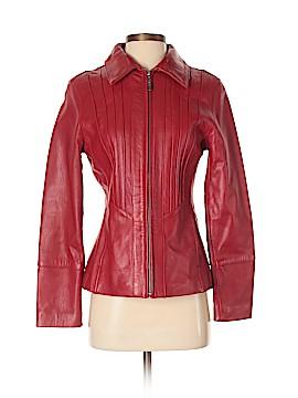 Avanti Leather Jacket Size S