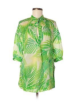 Diane von Furstenberg 3/4 Sleeve Blouse Size 9