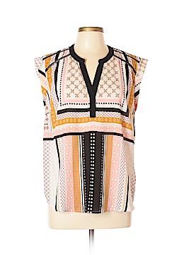 Bar III Short Sleeve Blouse Size XL