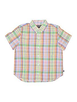 Polo Jeans Co. by Ralph Lauren Short Sleeve Button-Down Shirt Size M (Kids)