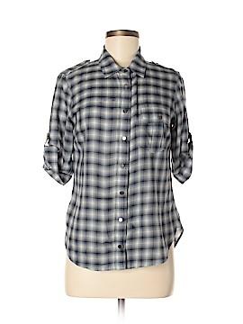 Equipment 3/4 Sleeve Button-Down Shirt Size S
