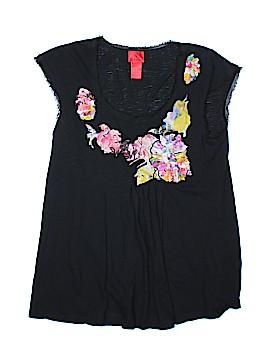 V Cristina Short Sleeve Top Size L