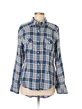 Firth Long Sleeve Button-Down Shirt Size M