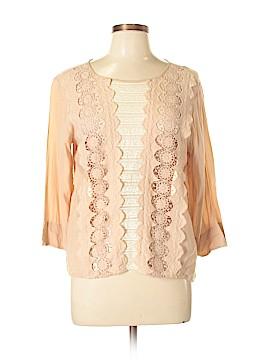 Beyond Vintage Long Sleeve Blouse Size L