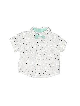 Cherokee Short Sleeve Button-Down Shirt Size 0-3 mo