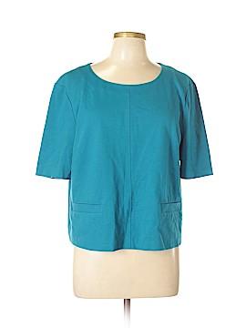 DKNY Short Sleeve Blouse Size XL