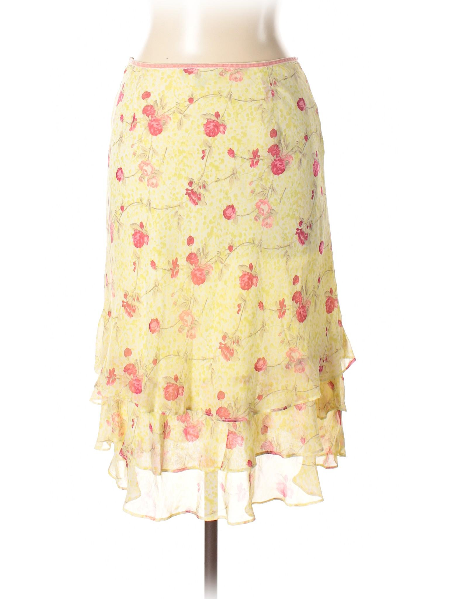 Silk Skirt Ann Taylor winter Leisure qAOHFvpF