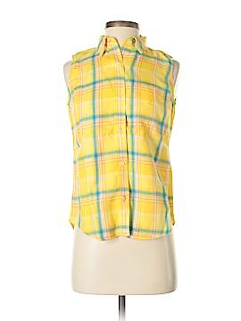 Lauren by Ralph Lauren Sleeveless Button-Down Shirt Size S