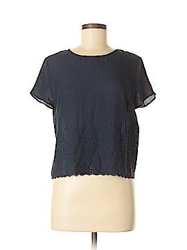 Mango Short Sleeve Blouse Size 6